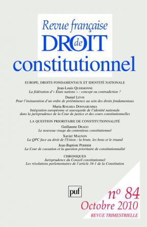 RFDC 2010, n° 84