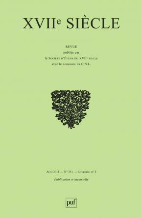 XVIIe siècle 2011, n° 251