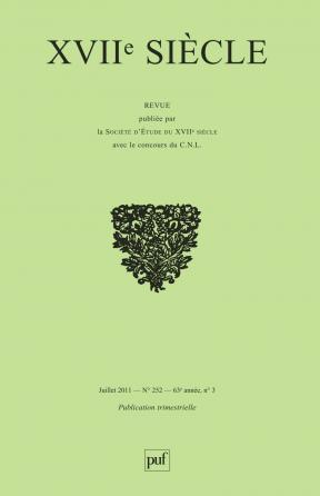 XVIIe siècle 2011, n° 252