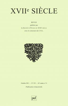 XVIIe siècle 2011, n° 253