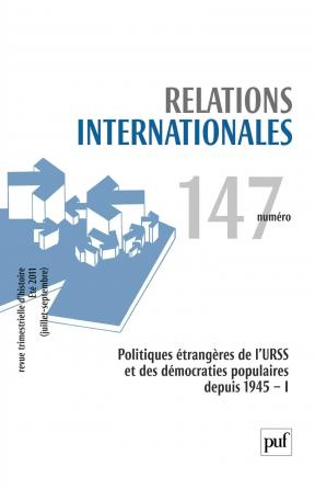 Relations internationales 2011, n° 147