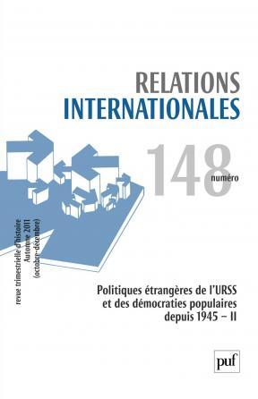 Relations internationales 2011, n° 148