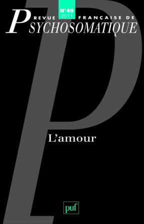 Rev. fr. de psychosomatique 2011, n° 40