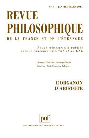 Revue philosophique 2011, t. 136 (1)