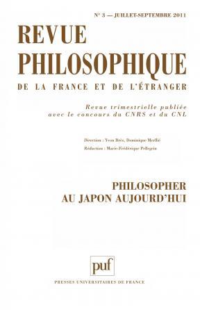 Revue philosophique 2011, t. 136 (3)