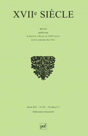 XVIIe siècle 2012, n° 254