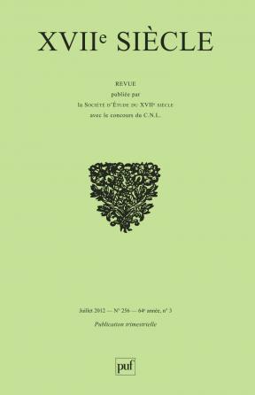 XVIIe siècle 2012, n° 256