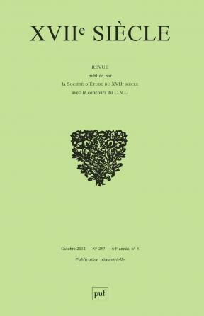 XVIIe siècle 2012, n° 257