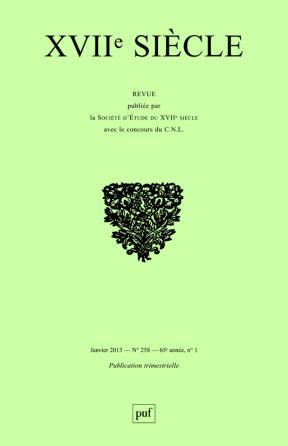 XVIIe siècle 2013, n° 258