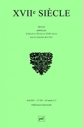 XVIIe siècle 2013, n° 259