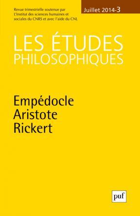études philosophiques 2014, n° 3