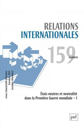 Relations internationales 2014, n° 159