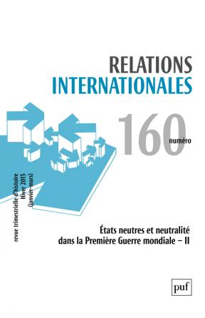 Relations internationales 2014, n° 160