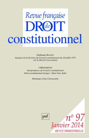RFDC 2014, n° 97