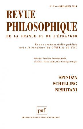 Revue philosophique 2014, t. 139 (2)