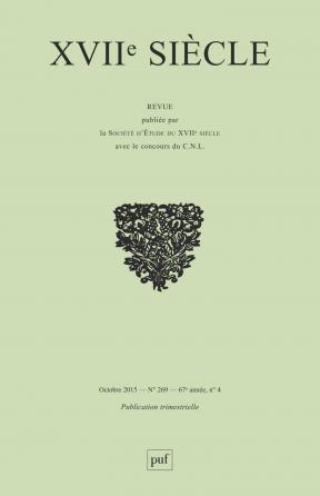 XVIIe siècle 2015, n° 269