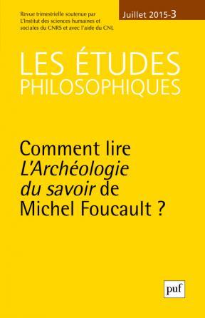 études philosophiques 2015, n° 3