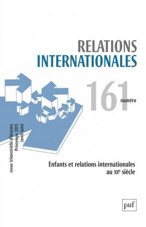 Relations internationales 2015, n° 161