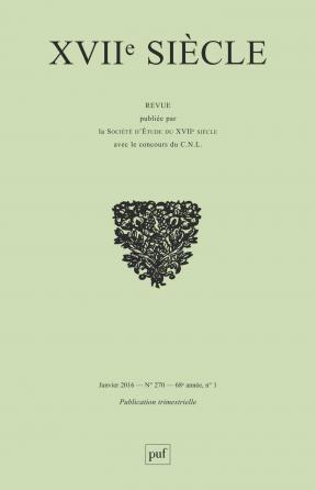 XVIIe siècle 2016, n° 270