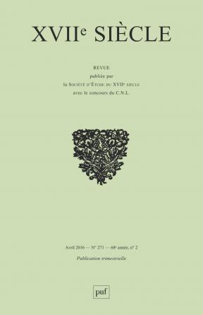 XVIIe siècle 2016, n° 271