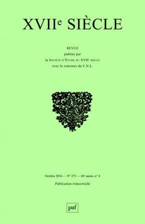 XVIIe siècle 2016, n° 273
