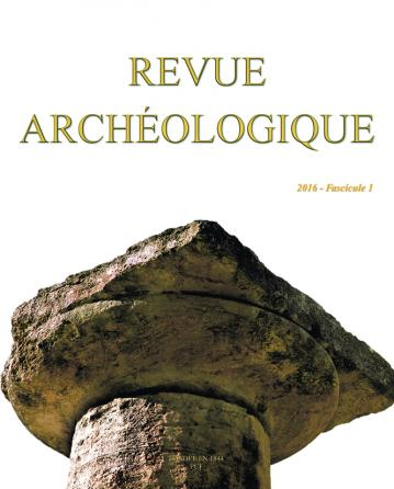 Revue archéologique 2016, n° 1