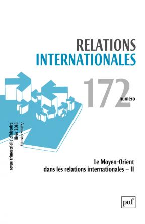 Relations internationales 2017, n° 172