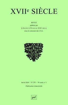 XVIIe siècle 2018, n° 278