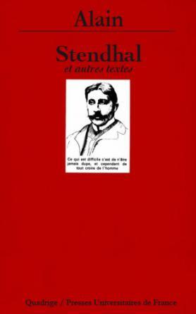 Stendhal et autres textes