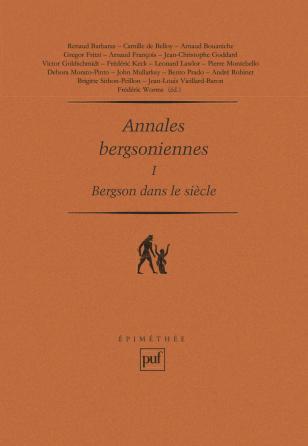 Annales bergsoniennes, I