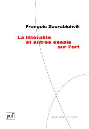 La littéralité et autres essais sur l'art