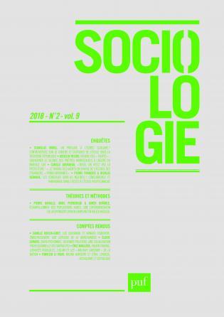 Sociologie 2018, n° 2
