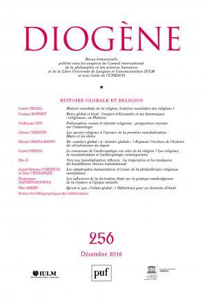 Diogène 2016, n° 256