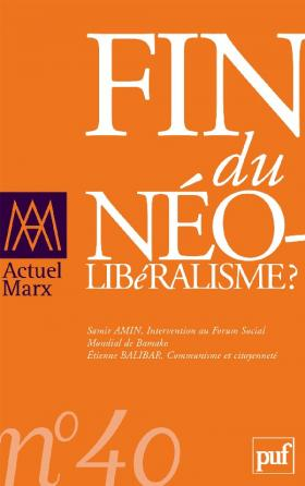 Actuel Marx 2006, n° 40