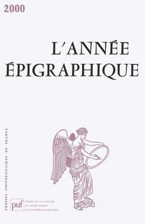 année épigraphique vol. 2000