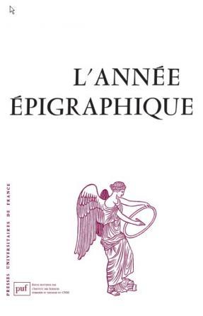année épigraphique vol. 2004