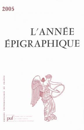 année épigraphique vol. 2005