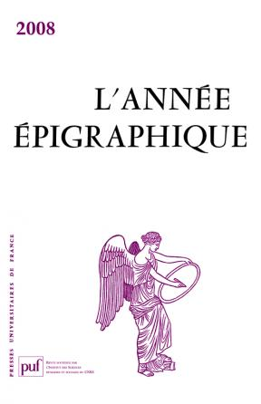 année épigraphique vol. 2008
