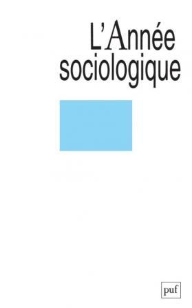 année sociologique 2005, vol. 55 (2)