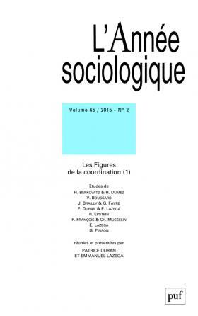 année sociologique 2015, vol. 65 (2)