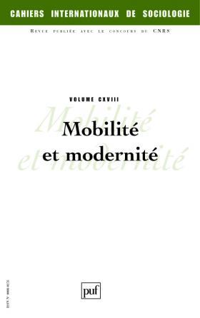 Cahiers intern. de sociologie 2005, vol. 118