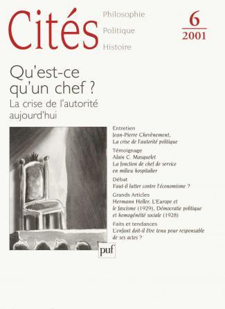 Cites 2001, n° 06