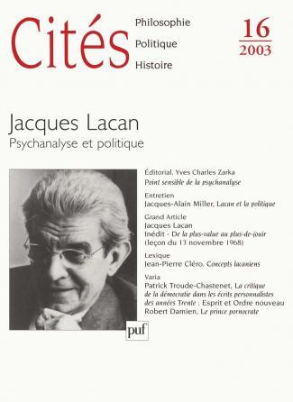 Cités 2003, n° 16