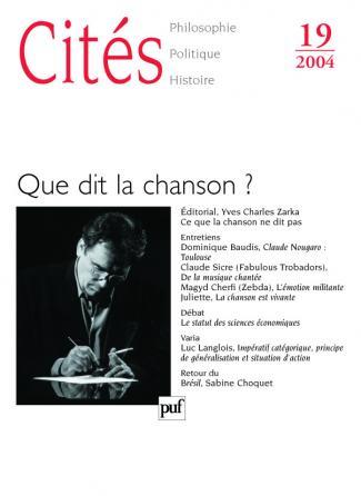 Cités 2004, n° 19
