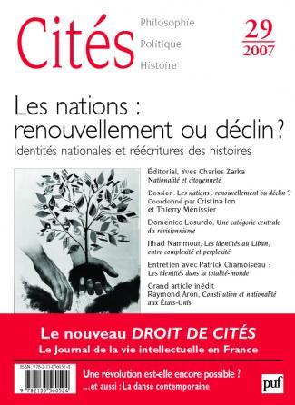 Cités 2007, n° 29