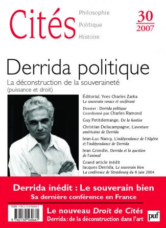Cités 2007, n° 30