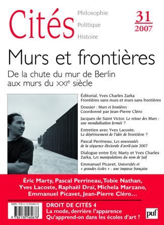 Cités 2007, n° 31