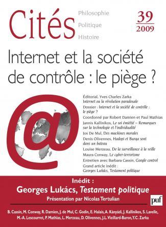 Cités 2009, n° 39