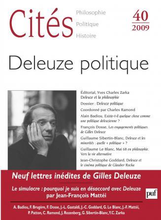 Cités 2009, n° 40