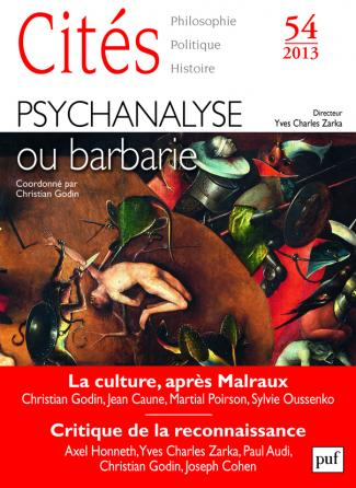 Cités 2013, n° 54